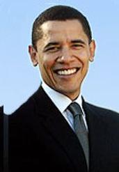 Obama image éclaircie expres