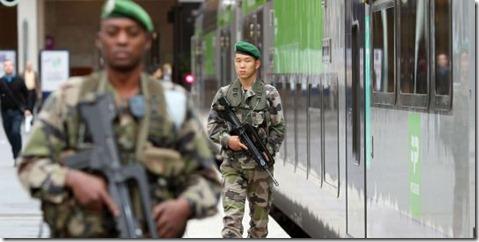 armée raciste