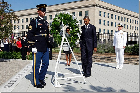 Obama Sept 11 Pentagon